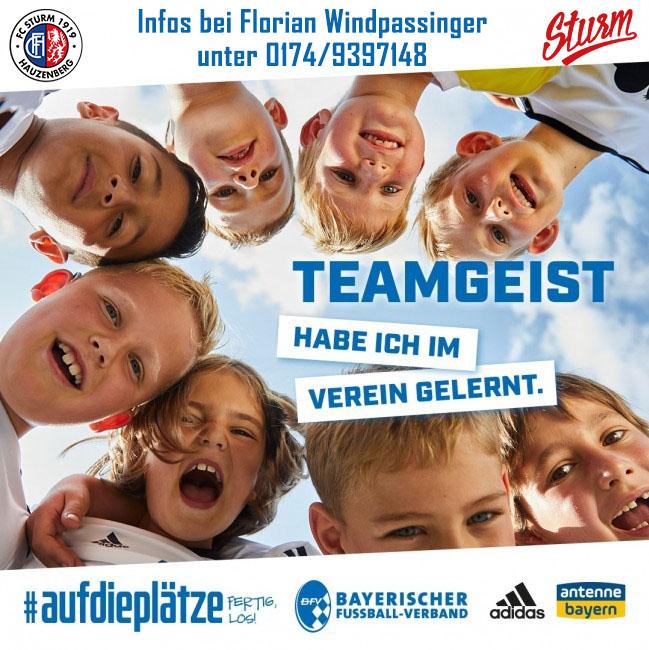 #AufdiePlätze, fertig, los! FC Sturm ist Teil der Kinderfußball-Kampagne des BFV